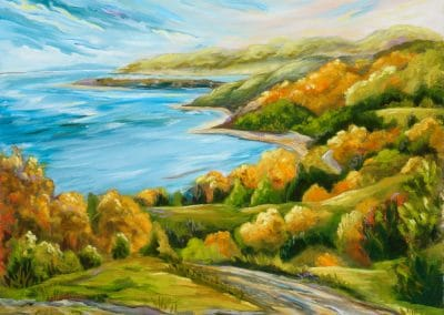 Paradis des couleurs, oil-based,